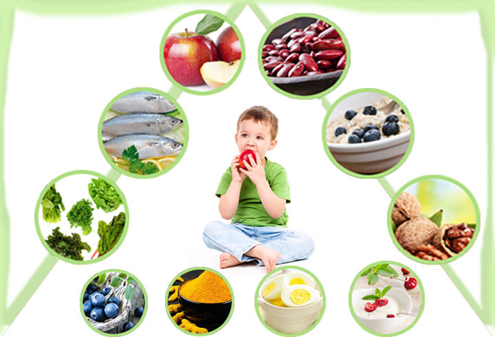 Foods That Promote An Active Brain Development In Your Kids